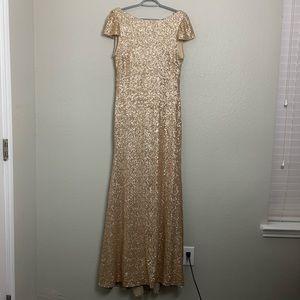 Sorella Vita long sequins formal dress